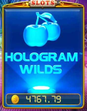 Pussy888-Hologram Wilds